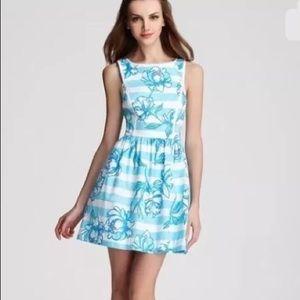 SOLD Lilly Pulitzer Sandrine shorely blue dress